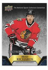 2015 UD Prominent Cuts Brad Richards NSCC Nationals Redemption Card