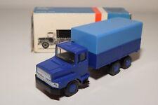 < LION CAR 72 DAF N2800 N 2800 TORPEDO TRUCK PROMOTIONAL BLUE NEAR MINT BOXED