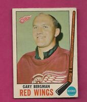 1969-70 OPC # 58 RED WINGS GARY BERGMAN GOOD CARD (INV# 8112)