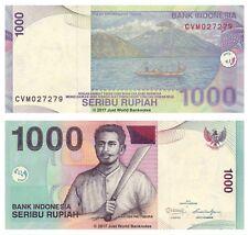 Indonesia 1000 Rupiah 2011 P-141k Banknotes UNC