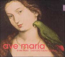 Ave Maria - a sel voci Bernard Fabre Digipak CD NEW