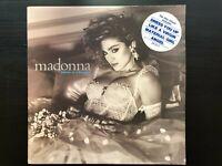 """Madonna """"Like A Virgin"""" Oz Press Sire Label W/ Original Hype Sticker VG+ Ex Con"""
