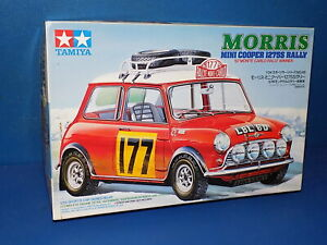 Tamiya 1/24 24048 - Morris Mini Cooper 1275S Rally - Car Model Kit