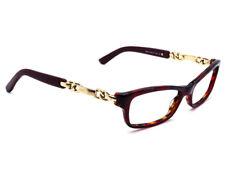 09efa8bc393 Jimmy Choo Eyeglasses 85 8R0 Tortoise Gold Rectangular Frame Italy 51  16  135