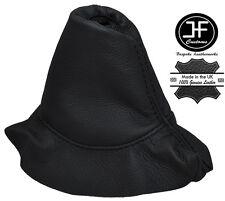 BLACK STITCHING LEATHER HANDBRAKE BOOT FITS PEUGEOT 308 2007-2012