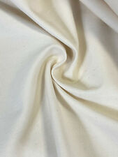 """Upholstery 100% Cotton Natural White 10 Oz Bull Denim Canvas Twill Fabric 59""""W"""