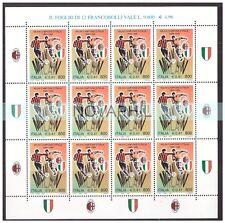 ITALIA 1999  -  SCUDETTO AL  MILAN  MNIFOGLIO  NUOVO  **