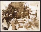 CRUEL TORTURE HOMO EROTIC SWEATY SAILOR MEN COSTUME RITUAL ~ 1940s VINTAGE PHOTO