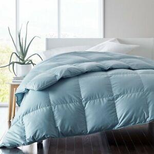 Company Store Legends Hotel Alberta Down Comforter (Cloud Blue/King/Light Warm)