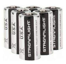Streamlight 85180 Lithium Battery CR123A 3V Flashlight Batteries