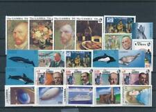 [G352816] Gambia good lot of stamps very fine MNH