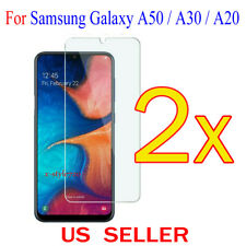 2x Clear Screen Protector Guard Cover Film For Samsung Galaxy A50 / A30 / A20