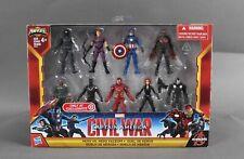 Hasbro Marvel Capt. America Hero VS Hero Faceoff 9 Action Figures 1095W