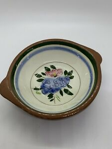 """Stangl Pottery """"Fruit and Flowers"""" Bowl New Jersey USA"""