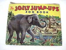 "Vintage ""The Jolly Jump-Ups Zoo Book"" by Geraldine Clyne *"