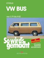 VW BUS T3 Benziner Reparaturanleitung Jetzt helfe ich mir selbst Reparaturbuch