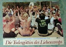 Laura Gemser TODESGÖTTIN DES LIEBESCAMPS original Kino Aushangfoto #  2