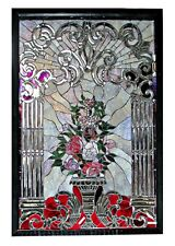Stained and Beveled Glass Window #5453