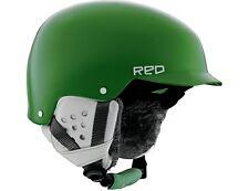 Burton RED Asylum Women Snowboard Helmet (XS) Green