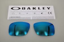 NEW Oakley HOLBROOK PRIZM SAPPHIRE OO9102 Replacement Lens Authentic