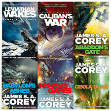 Expanse Series Vol (1 to 6) 6 Books Collection Set By James S. A. Corey Calibans