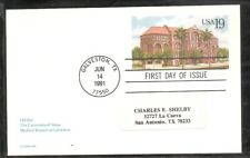 US SC # Ux155 Old Red FDC. No Cachet 1