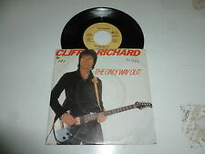 "CLIFF RICHARD-THE ONLY WAY OUT - 1982 Allemagne 7"" JUKE BOX VINYL SINGLE"