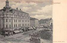 B76575 Romania Bucuresti Piata Teatrului national si hotel Continental 1900