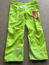 New Men's Patagonia Snowshot Snowboard Ski Snow Pants Size XL Peppergrass Green