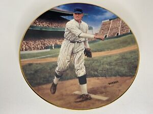"WALTER JOHNSON 8"" The Shutout Delphi Collectable Plate The Legends Of Baseball"