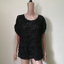 C811 - NB Black Sheer Top with Palettes - Selling Low