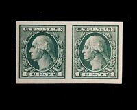 US Stamps, Scott #531 Pair 1919  Superb  M/NH. Large margins. Beautiful. Gem!
