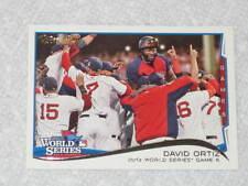"David Ortiz, ""Big Papi"", 2014 Topps #259 Boston Red Sox, 2013 World Series MVP !"