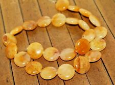 New 16 inch strand Golden Honey Agate gemstone beads - 16mm - Was $37 - A297a+