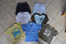 Bekleidungspaket Frühling/Sommer Jungs 98/104 7 Teile T-Shirts Oberteile Hosen