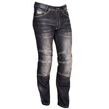 Pantalones negros de cordura de verano para motoristas