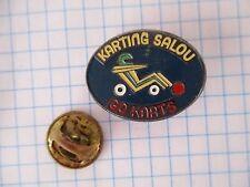 PINS RARE VINTAGE KARTING SPORTS CAR GO-KARTS SALOU SPAIN SPORT AUTOMOBILE m1/3