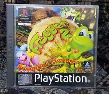 Play Station Spiel PS1 Frogger 2 + Anleitung Zustand OK + OVP (BITTE LESEN)