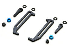 Exotek Racing 1828 Carbon Fiber B6.1/B6.1D LiPo Tabs & Cups Set (Battery Brace)