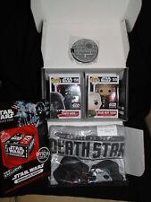 Star Wars Funko contrabandistas Bounty Caja con Darth Vader & Grand Moff Tarkin Pop