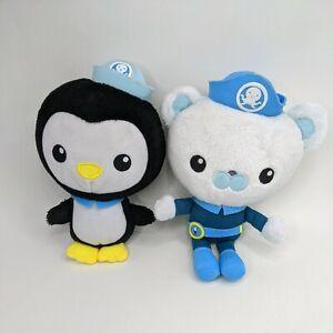Octonauts Captain Barnacles Peso Plush Dolls Soft Animals Penguin Bear 20cm Tall