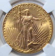 1927  $20 GOLD ST. GAUDENS DOUBLE EAGLE MS - 64+ NGC 3832257-003 FREE SHIPPING