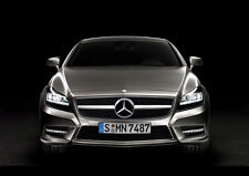 2012 MERCEDES BENZ CLS FRONT NEW A4 POSTER GLOSS PRINT LAMINATED