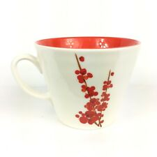 Sturbucks 2008 Cherry Blossom Tree White Ceramic Coffee Java Mug Cup MW DW Safe