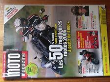 $$a Revue Moto Magazine N°226 Honda 1000 Goldwing  BMW K 1200 GT  Casques modula