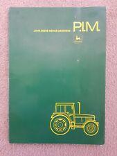 JOHN DEERE 840 - 4640 TRACTOR PIM MANUAL