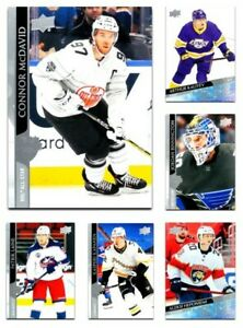 2020-21 UD EXTENDED + Rookies + Clear Cut  *** PICK YOUR CARD *** SET [501-700]