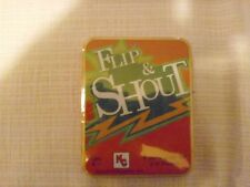 Flip & Shout Card Game  2- 6 Players New in Box/Tin by Marina Games