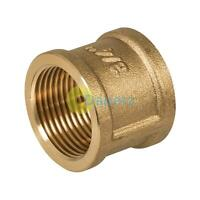 "Female to Female BSP Coupler 3/4"" Brass Socket - Coupling"