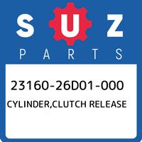 23160-26D01-000 Suzuki Cylinder,clutch release 2316026D01000, New Genuine OEM Pa